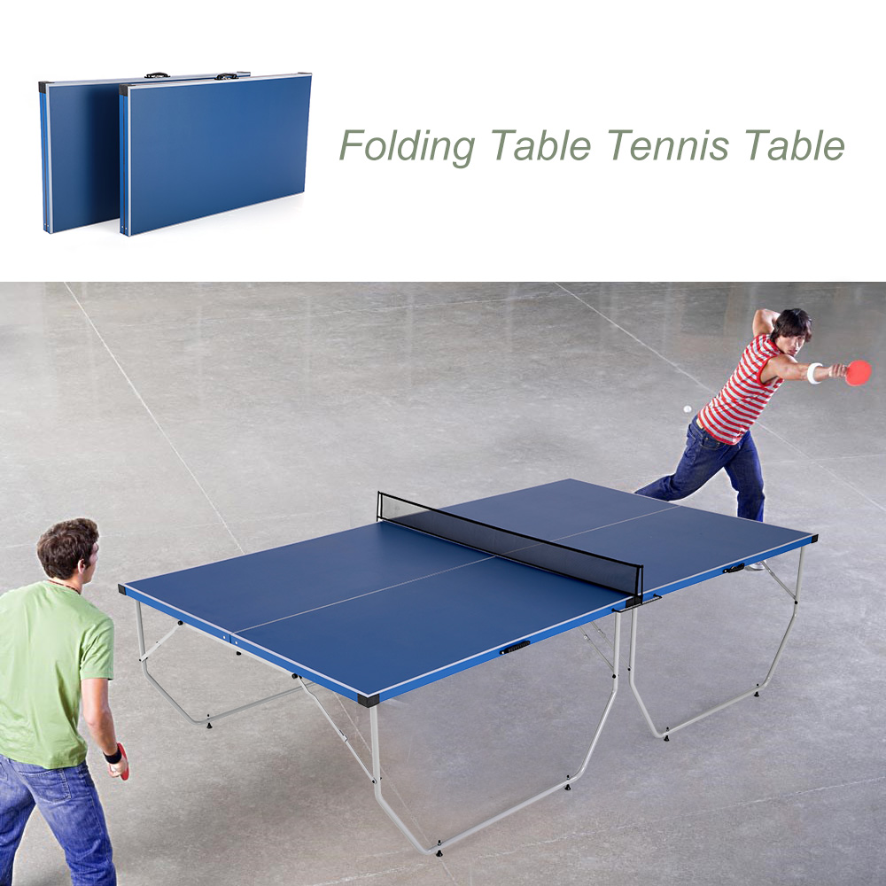 Merveilleux Lixada Folding Table Tennis Table Ping Pong Table